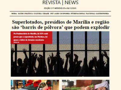 D MARÍLIA REVISTA   NEWS – EDIÇÃO – WEEKEND – 05 E 06-12-2020