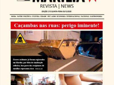 D MARÍLIA REVISTA | NEWS – EDIÇÃO 03-12-2020 – QUINTA-FEIRA