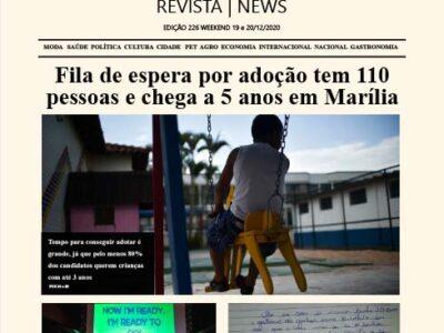 D MARÍLIA REVISTA | NEWS – EDIÇÃO – WEEKEND – 19 E 20-12-2020