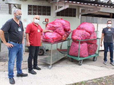 Comissão de Resíduos da Santa Casa de Marília arrecada 169 kg de tampas plásticas para reciclagem