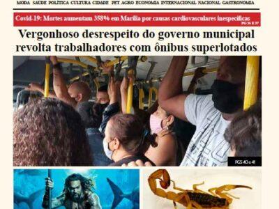 D MARÍLIA REVISTA|NEWS – EDIÇÃO WEEKEND 06 E 07-02-2021