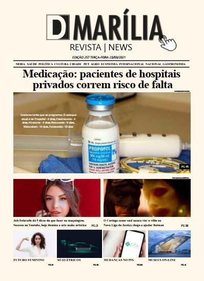 D MARÍLIA REVISTA|NEWS – EDIÇÃO – 23/03/2020 – TERÇA-FEIRA