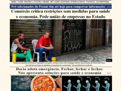 D MARÍLIA REVISTA NEWS – EDIÇÃO – 12/03/2020 – SEXTA-FEIRA