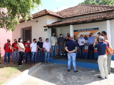 Defesa Civil de Marília já está  funcionando em sua nova sede