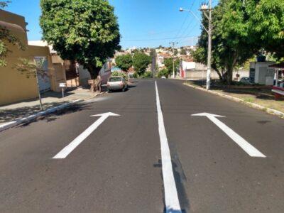 Rua Mato Grosso passa a ter sentido único a partir de hoje