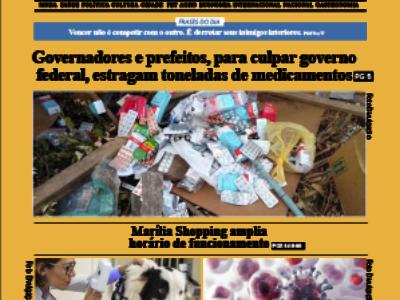 D MARÍLIA REVISTA|NEWS – EDIÇÃO – 13-05-2021 – QUINTA-FEIRA