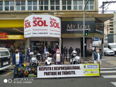 Ação de Multa Moral do Movimento Maio Amarelo é destaque e conscientiza população quanto às vagas preferenciais