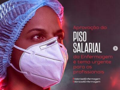 """CFE lança campanha """"Valorize a Enfermagem"""" e busca aprovação de piso salarial da categoria"""