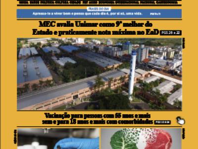 D MARÍLIA REVISTA NEWS – EDIÇÃO – 15-06-2021 – TERÇA-FEIRA