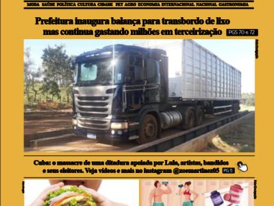 D MARÍLIA REVISTA NEWS – EDIÇÃO 13-07-2021 – TERÇA-FEIRA
