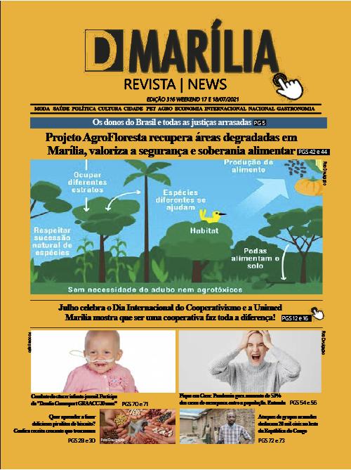 D MARÍLIA REVISTA|NEWS – EDIÇÃO WEEKEND – 17 E 18-07-2021