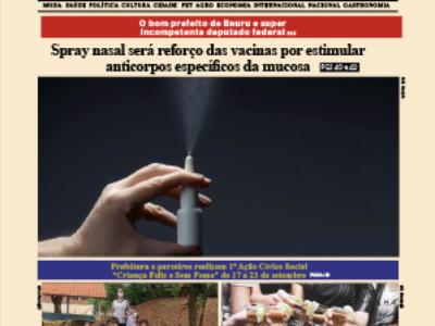 D MARÍLIA REVISTA|NEWS – EDIÇÃO – 15-09-2021 – QUARTA-FEIRA