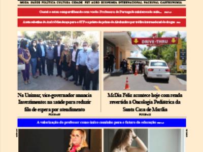D MARÍLIA REVISTA|NEWS – EDIÇÃO WEEKEND – 23 E 24 DE OUTUBRO