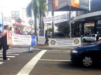 Rotarianos em ação: McDia Feliz e vacinação dividem atividades do Marília-Pioneiro