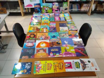 Biblioteca Municipal recebe doação de 240 livros de Sebo Universitário